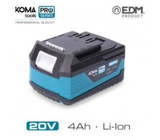 Batería Litio 20V 4.AH Koma Tools PRO SERIES