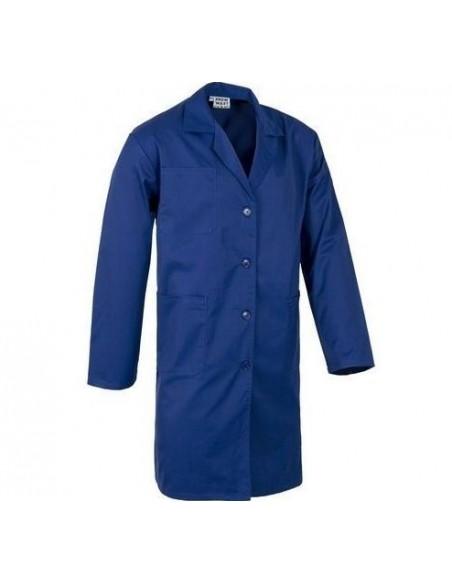 Bata terlenka con botones en color azul marino