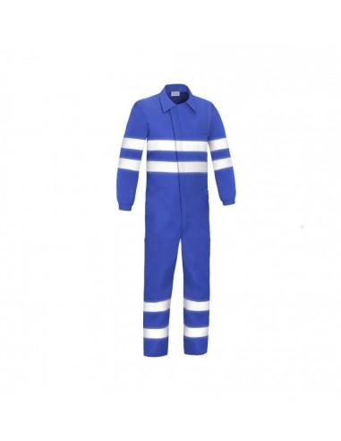 Buzo de algodón azulina con bandas Adeepi
