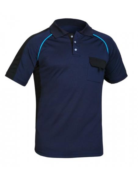 Camiseta Cooldry Marino/Azulina Adeepi