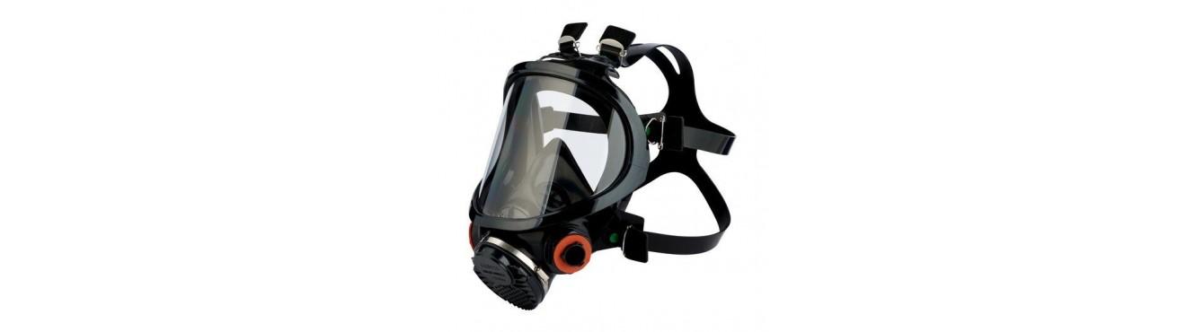 ▷ Máscaras de seguridad para vapores y gases
